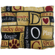 "PB Paws by Park B. Smith® ""I Love Dogs"" Dog Bed"