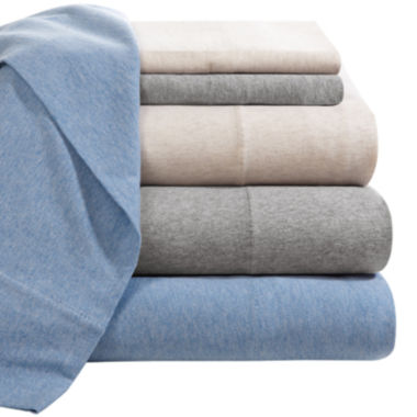 jcpenney.com | INK+IVY Jersey Knit Cotton Sheet Set