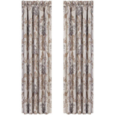 jcpenney.com | Queen Street® Serena 2-Pack Curtain Panels