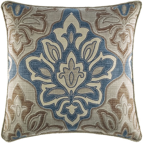 "Croscill Classics® Wainscott 18"" Square Decorative Pillow"