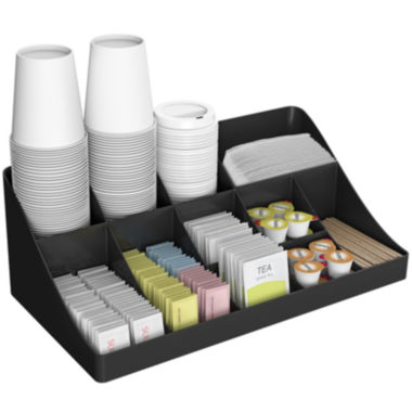 jcpenney.com | Mind Reader 13-Compartment Breakroom Coffee Condiment Organizer