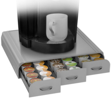 jcpenney.com | Mind Reader 36 Capacity Coffee Pod Triple Drawer