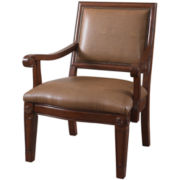 Douglas Bonded Leather Accent Chair