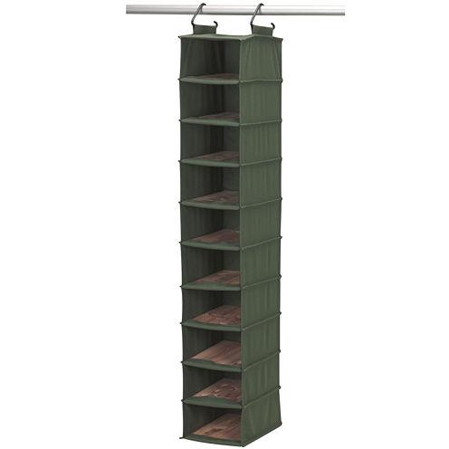 Household Essentials® CedarStow™ 10-Shelf Hanging Shoe Bag
