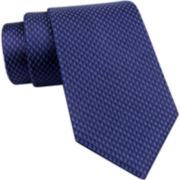 Claiborne® Diamond Neat Silk Tie
