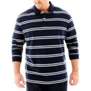 The Foundry Supply Co.™ Sueded Polo–Big & Tall