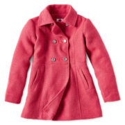 Total Girl® Midweight Pea Coat - Girls 7-16
