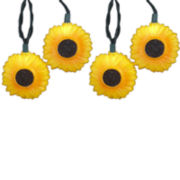 Kurt Adler 10-Light Sunflower Light Set