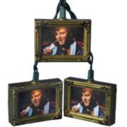 Kurt Adler 10-Light Elvis Picture Frame Light Set