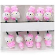 Kurt Adler 10-Light Hello Kitty® Pink Light Set