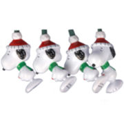 Kurt Adler 10-Light 11' Peanuts Snoopy Light Set