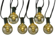 Kurt Adler UL 10-Light G50 C7 Silver Novelty Light Set