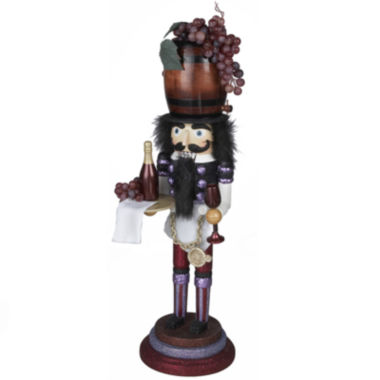 "jcpenney.com | Kurt Adler 19"" Hollywood Wine Nutcracker"