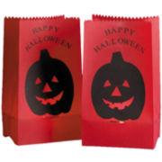 Kurt Adler Luminaires PVC Pumpkin Print Bags