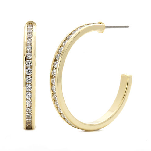 Sparkle Allure™ Cubic Zirconia Hoop Earrings