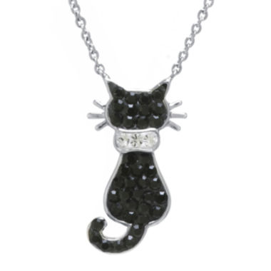 jcpenney.com | Crystal Sophistication™ Crystal Cat Necklace