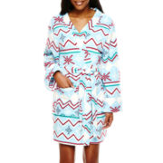 Hanes® Long-Sleeve Plush Robe
