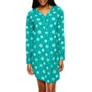 Hanes® Long-Sleeve Knit Nightshirt