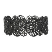 Mixit™ Black Lacy Stretch Bracelet