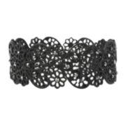 Mixit™ Black Lacy Stretch Bracelet