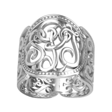 jcpenney.com | Personalized 18mm Script Monogram Ring