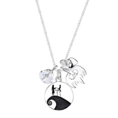 jcpenney.com | Disney Sterling Silver Nightmare Before Christmas Charm Pendant Necklace