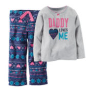 Carter's® Fair Isle Pajama Set - Toddler Girls 2t-5t