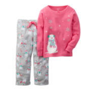 Carter's® Snowman Pajama Set - Baby Girls 12m-24m