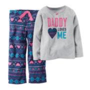 Carter's® Fair Isle Pajama Set - Baby Girls 12m-24m