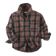 Carter's® Button-Front Flannel Shirt - Toddler Boys 2t-5t