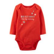 Carter's® Long-Sleeve Mommy Bodysuit - Baby Girls newborn-24m