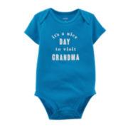 Carter's® Visit Grandma Bodysuit - Baby Boys newborn-24m