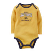 Carter's® Long-Sleeve Awesome Bodysuit - Baby Boys newborn-24m