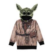 Star Wars™ Yoda Fleece Costume Hoodie - Preschool Boys 4-7