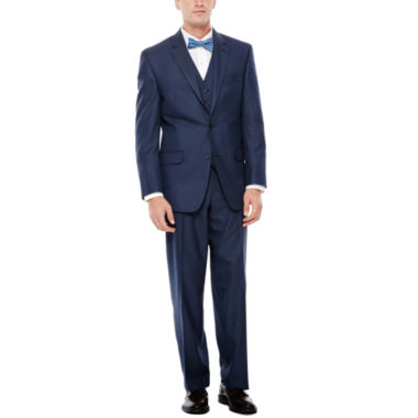 jcpenney.com | IZOD® Navy Sharkskin Suit Separates - Classic Fit