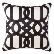 "Liz Claiborne® Danika 18"" Square Decorative Pillow"