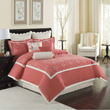 jcpenney.com | Williamsburg Ariana Hotel 4-pc. Comforter Set & Accessories