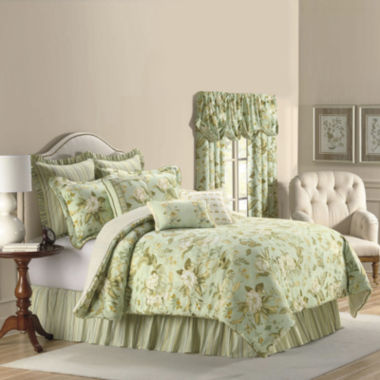 jcpenney.com | Williamsburg Grandiflora 4-pc. Comforter Set & Accessories