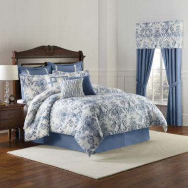jcpenney.com | Williamsburg Randolph 4-pc. Comforter Set & Accessories