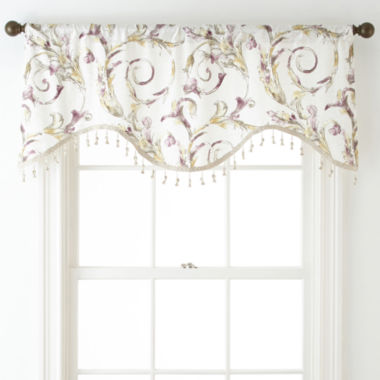 jcpenney.com | Royal Velvet® Diane Rod-Pocket Festoon Valance