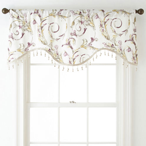 Royal Velvet® Diane Rod-Pocket Festoon Valance