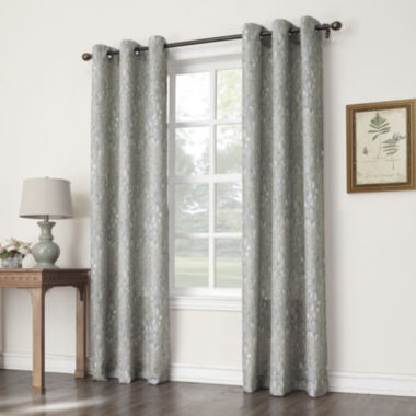 jcpenney.com | Sun Zero™ No. 918 Addie Grommet-Top Curtain Panel