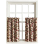 Sun Zero™ Emory Printed Folliage Room-Darkening Rod-Pocket Curtain Panel