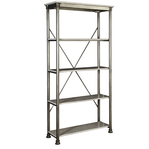 Blanco 5-Tier Shelving Unit