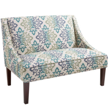 jcpenney.com | Calloway Scroll Floral Loveseat Settee