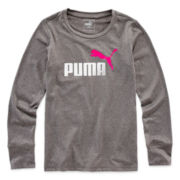 Puma® Long-Sleeve Tech Tee - Girls 7-16