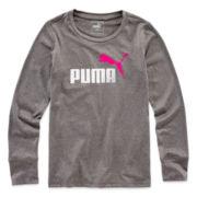 Puma® Long-Sleeve Tech Tee - Girls 7-16
