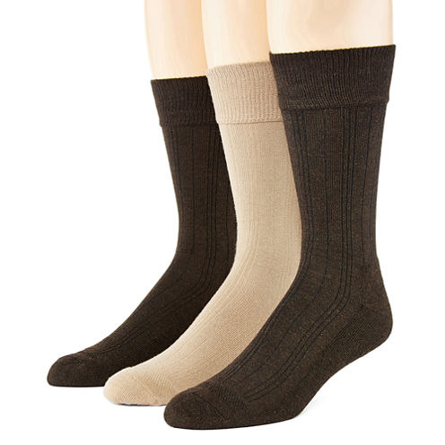 Hanes® 3-pk. Ultimate X-Temp™ Mens Crew Socks