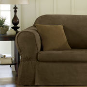 Maytex Microsuede 2-pc Sofa Slipcover