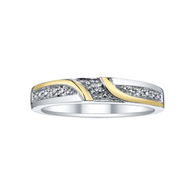 jcpenney.com | Two-Tone Diamond Accent Wedding Band